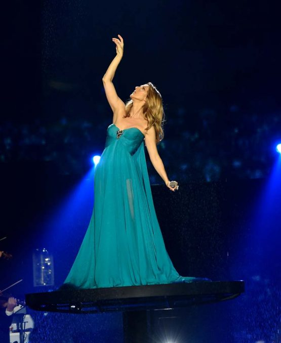 Celine Dion Performs At The Colosseum At Caesar Palace In Las Vegas
