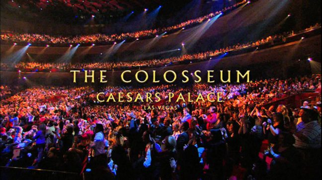 Céline´s return to The Colosseum