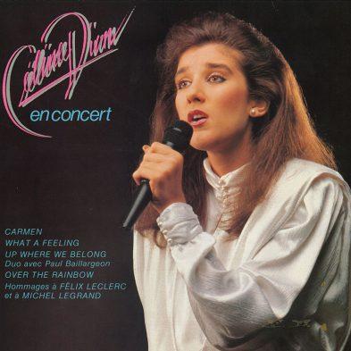 Celine Dion en concert