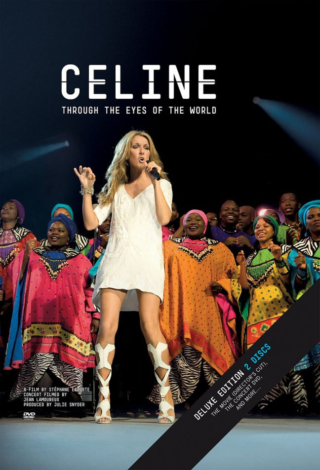 Celine Through the Eyes of the World Deluxe DVD