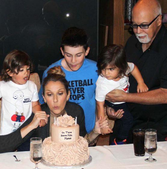 Céline et sa famille