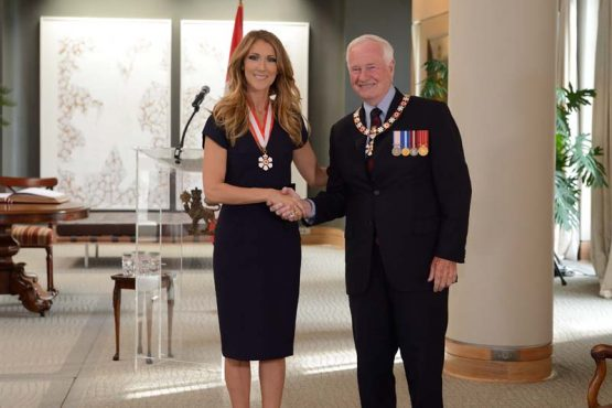Order Of Canada Investiture For René Angélil And Céline Dion