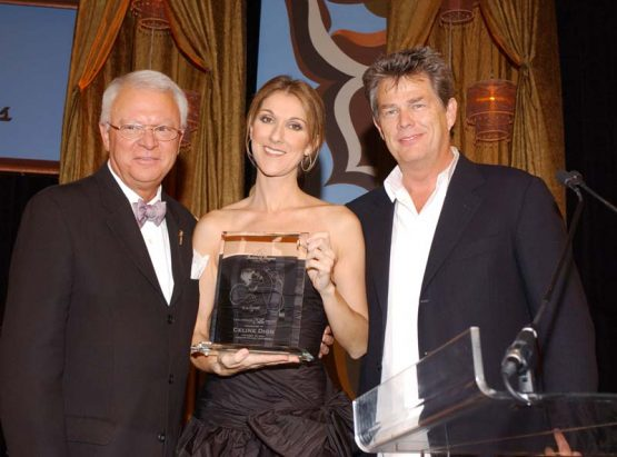 Celine Dion Receives The Society Of Singers' 13th Annual Ella Award