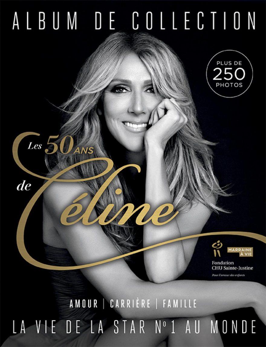 ALBUM DE COLLECTION - LE 50ANS DE CÉLINE