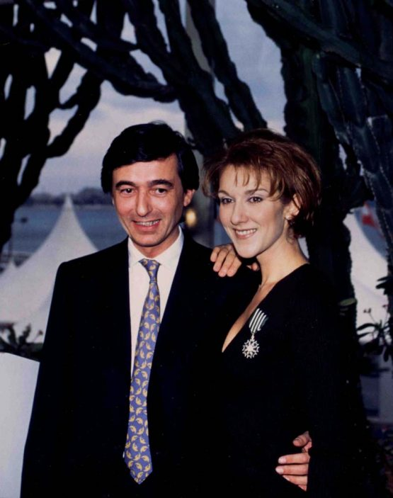 1996 With French Minister Of Culture Chevalier De Ordre Des Arts Et Lettres France Honor