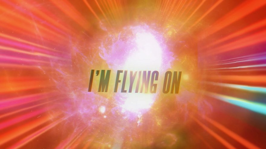 Flying On My Own (Official Lyric Video)