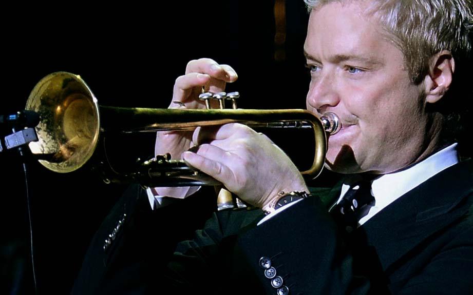 chris martin trumpet biography sample