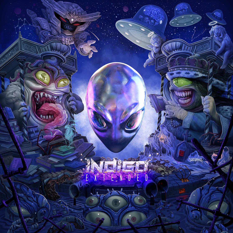 INDIGO EXTENDED album cover (1)