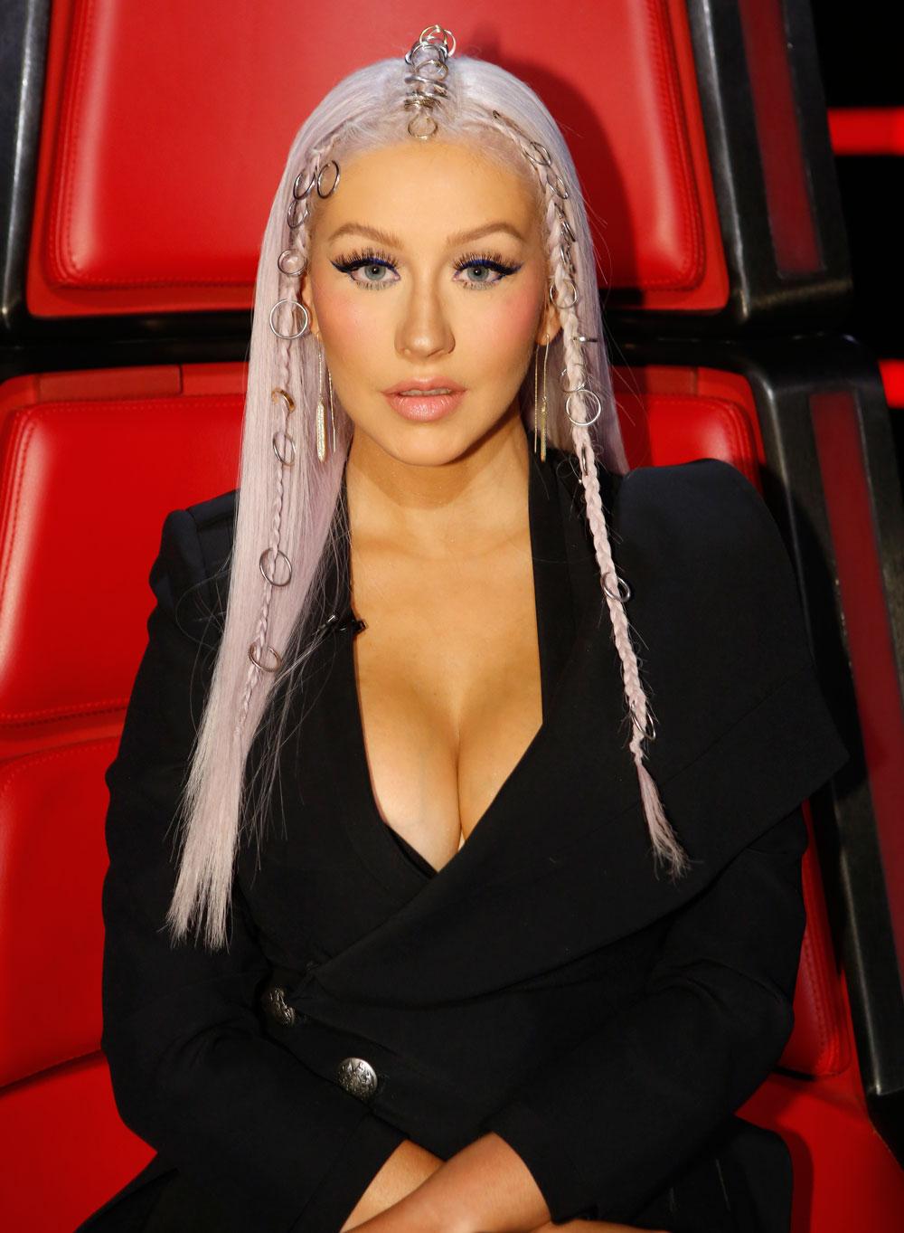 Christina Aguilera Makeup On The Voice 2016 Mugeek
