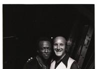 Miles Davis and Clive Davis  1969