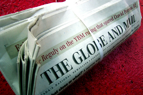 Globe-and-Mail-rolled-up