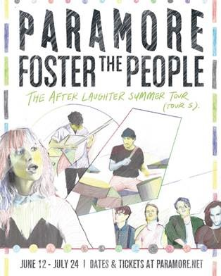 "FOSTER THE PEOPLE RELEASE ""SIT NEXT TO ME"" (AROUND THE WORLD) TOUR VIDEO"