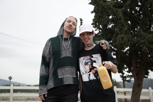 "DIPLO DEBUTS VIDEO FOR  ""COLOR BLIND"" FEATURING LIL XAN"