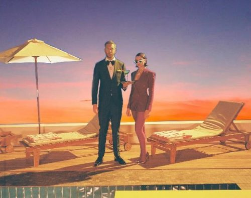 "CALVIN HARRIS RELEASES MUSIC VIDEO FOR ""ONE KISS"" WITH DUA LIPA"