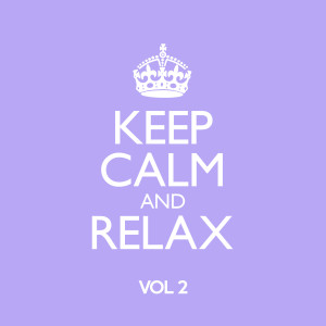 KEEP CALM AND RELAX MINT WITH STICKER