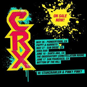 CRX California Tour