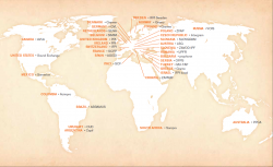 PRS Societies World Map
