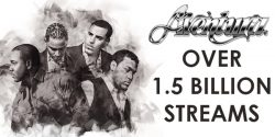 Aventura 1.5 Billion Streams