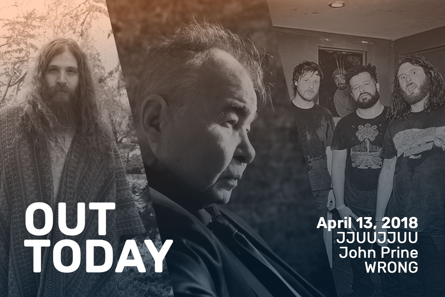 Out Today by The Orchard: JJUUJJUU, John Prine & More