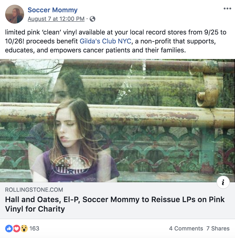 Ten Bands One Cause 2018: Pink Vinyl From Modest Mouse, Soccer Mommy, Silversun Pickups & More