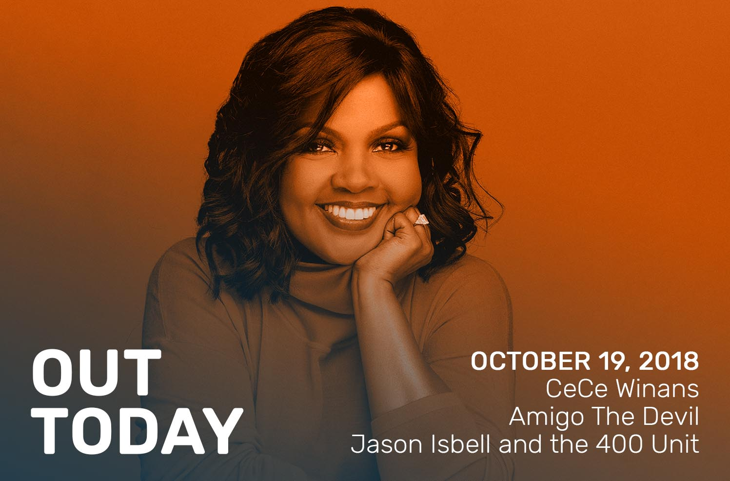 Out Today by The Orchard: CeCe Winans, Amigo The Devil & More