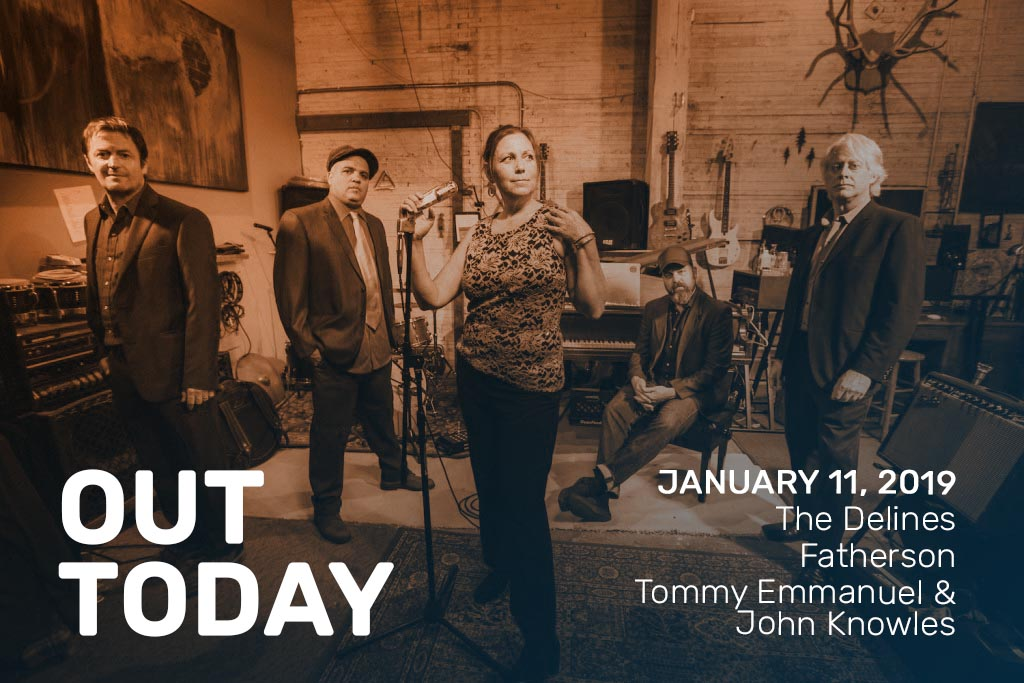 Out Today by The Orchard: The Delines, Tommy Emmanuel & John Knowles and More!