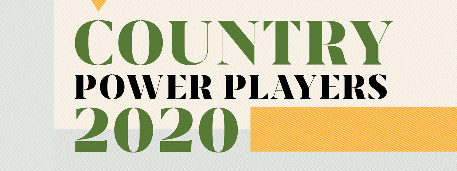 Billboard Country Power Players 2020