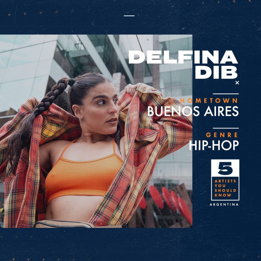 Delfina Dib Artist You Should Know From Argentina