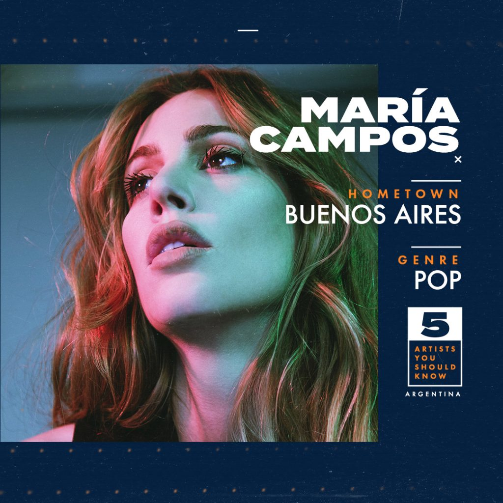 Maria Campos Artist You Should Know From Argentina