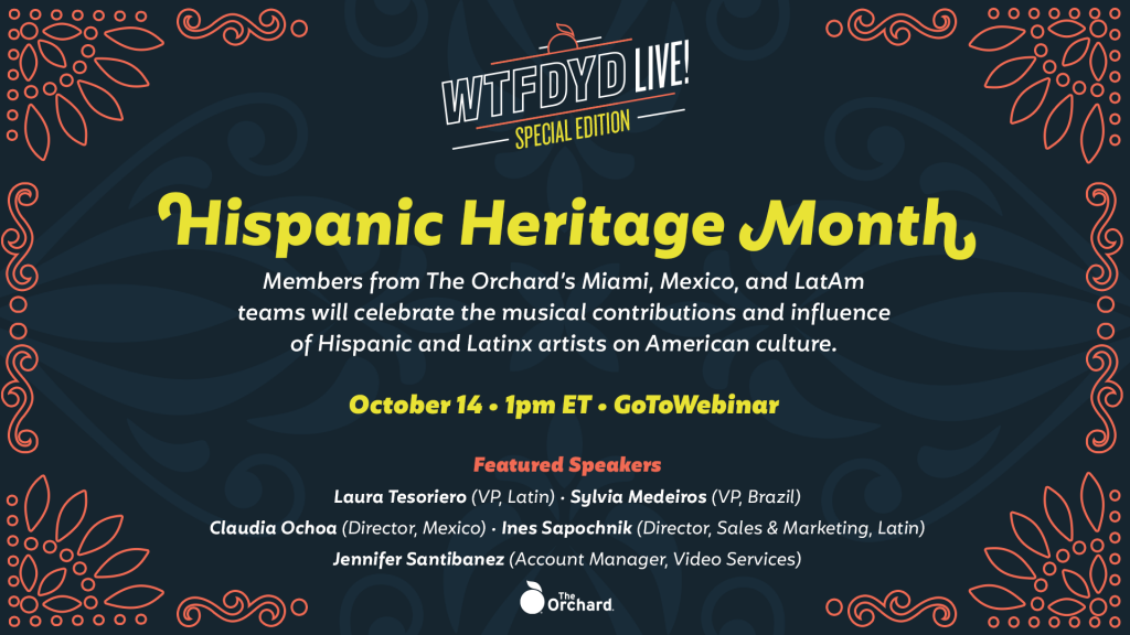 WTFDYD Live! – Hispanic Heritage Month Edition