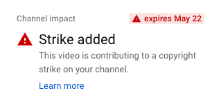 Frequently Asked Questions: YouTube Copyright Strikes