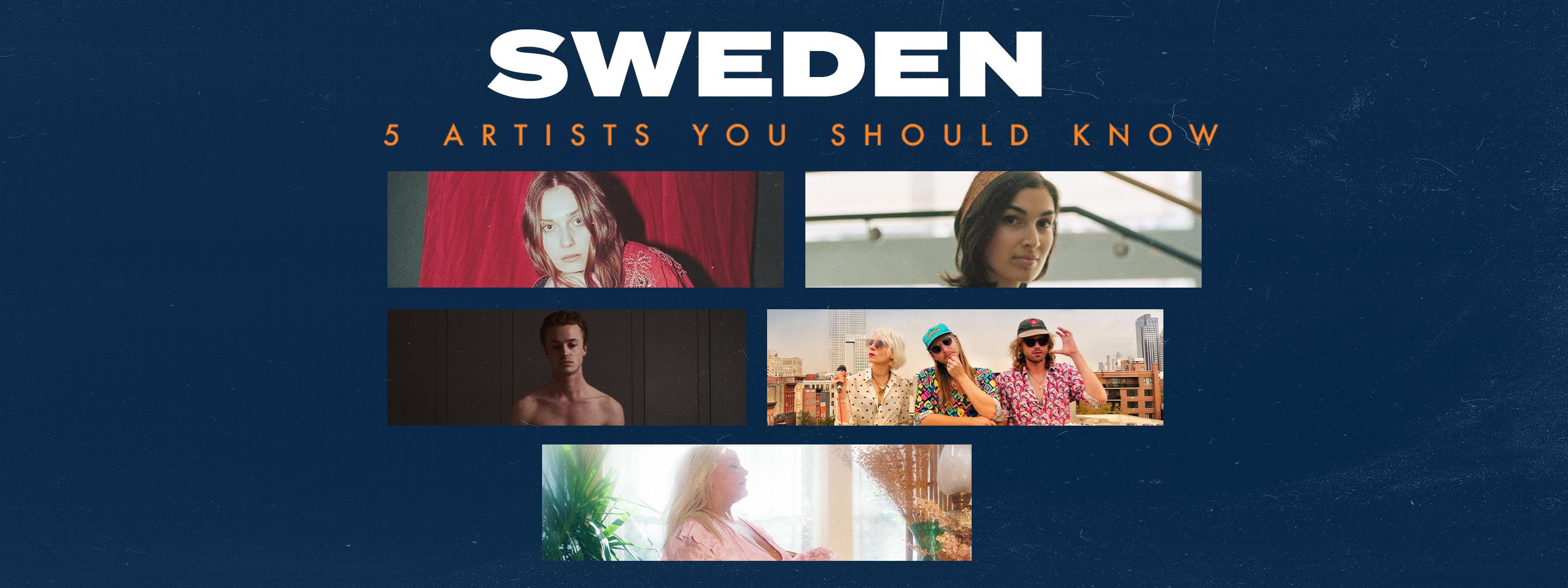 5 Artists You Should Know: Sweden