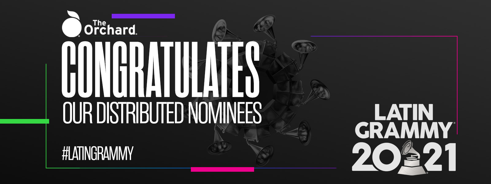The Orchard Congratulates Our 2021 Latin GRAMMY Award Nominees