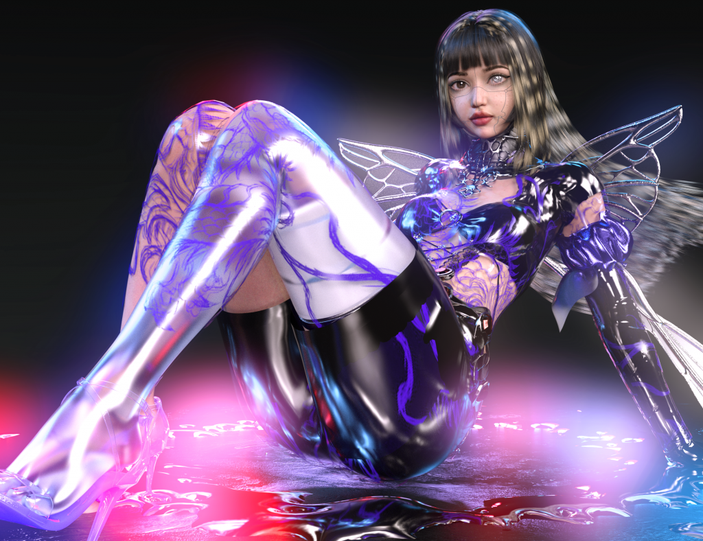 Meet RUBY 9100M: One Of The World's First Trans-Human Virtual Influencers