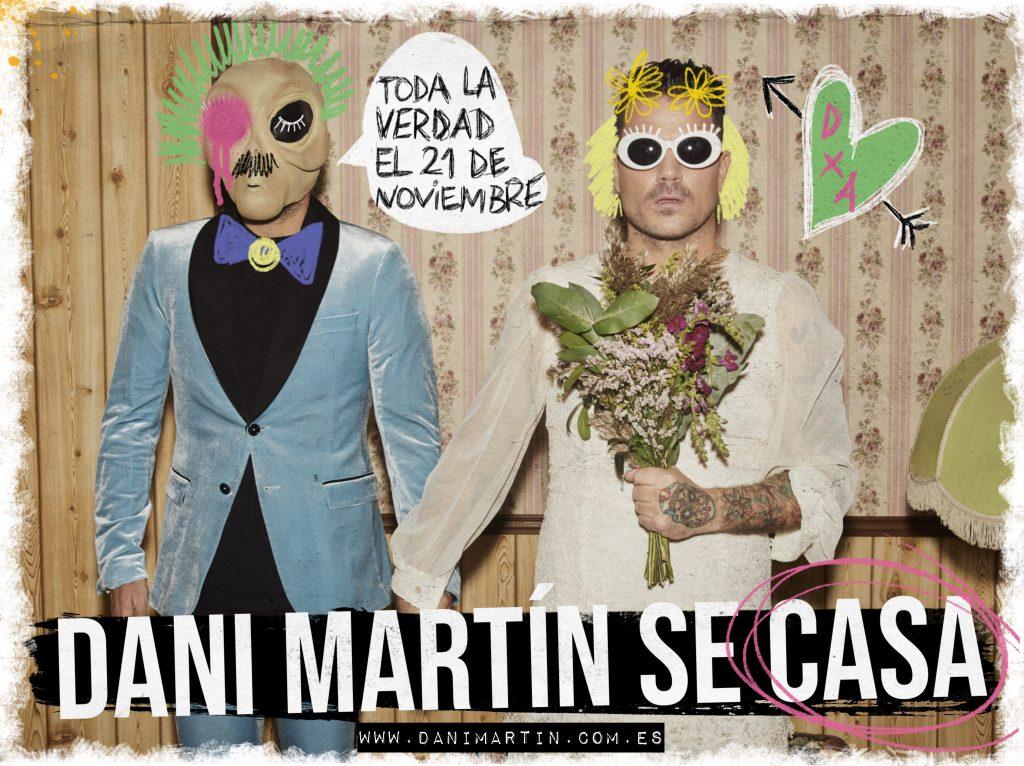 DANI MARTÍN SE CASA