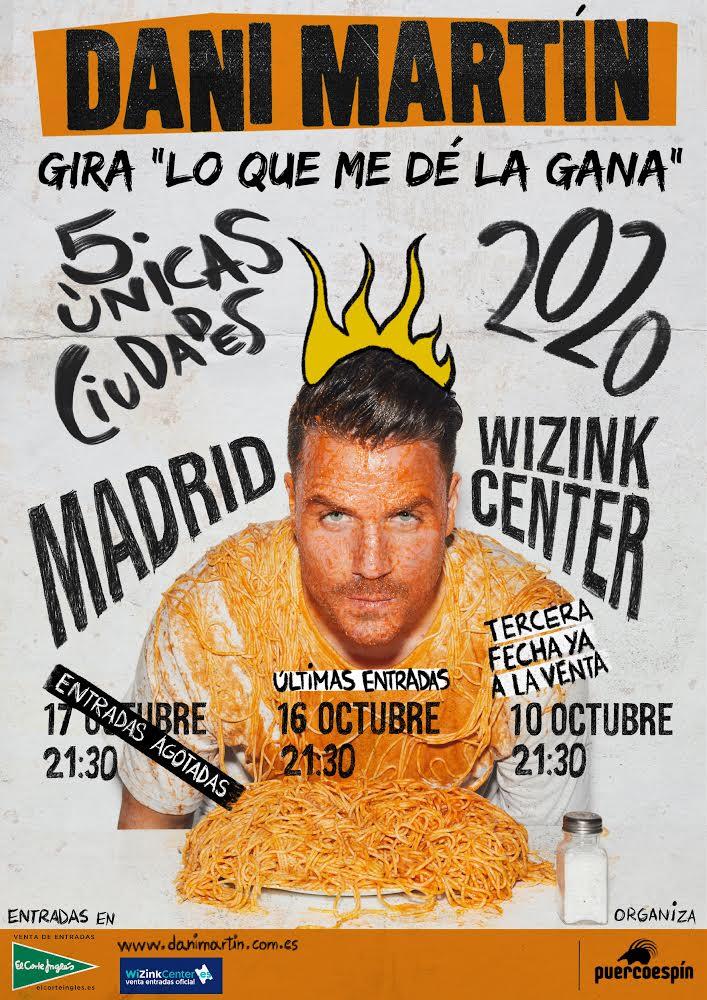 Madrid TERCERA FECHA (Gira Lo Que Me Dé La Gana)