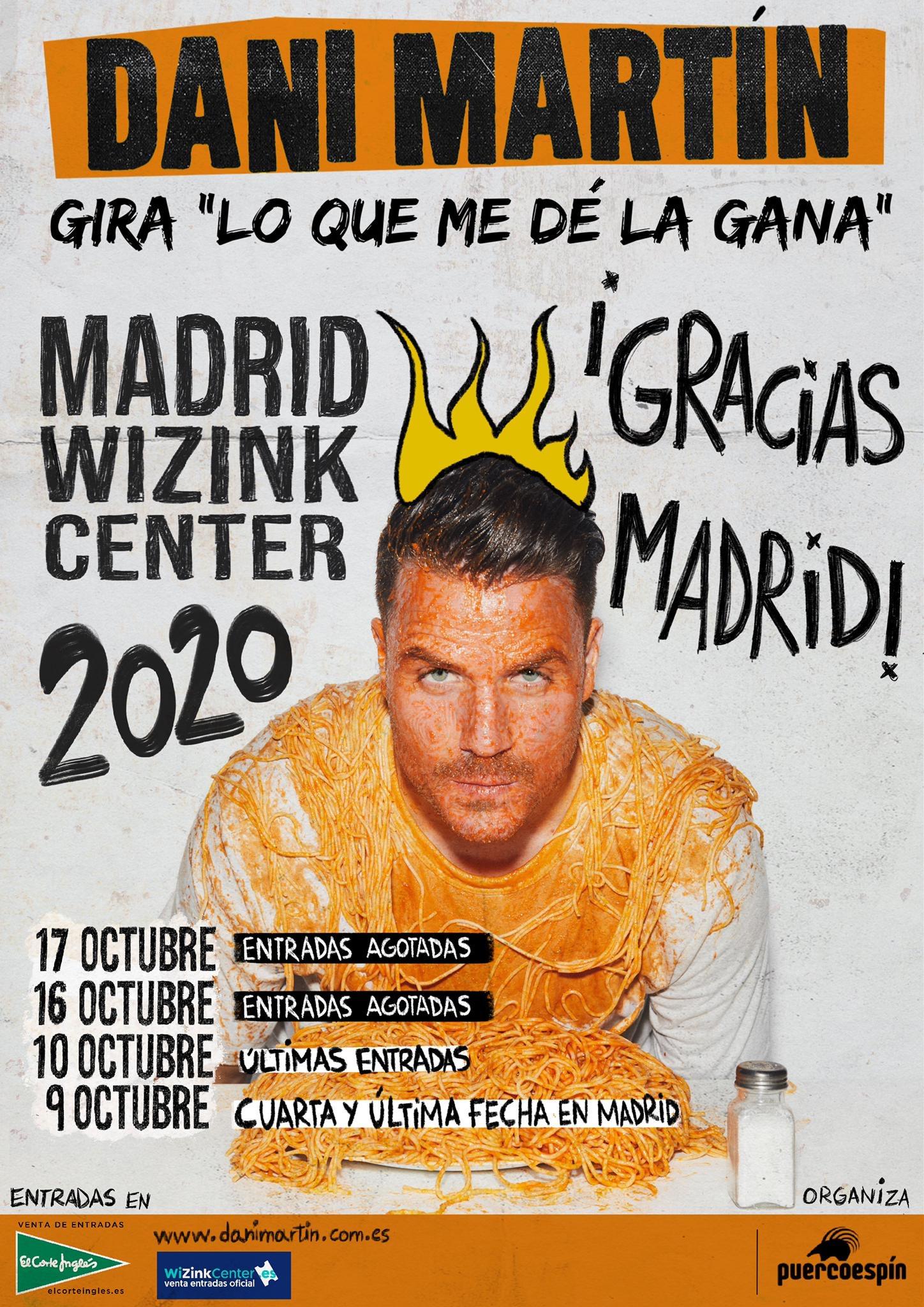 Madrid CUARTA Y ÚLTIMA FECHA (Gira Lo Que Me Dé La Gana)