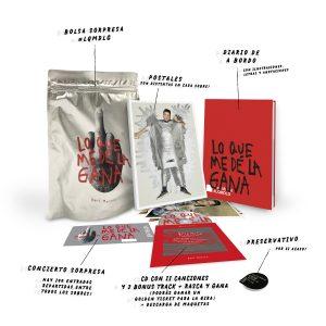 Imagen del álbum Lo que me dé la gana de Dani Martín edición CD con bolsa sorpresa