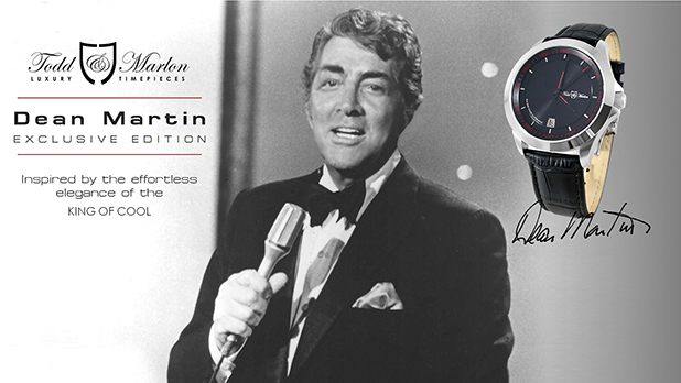 Dean Martin limited edition timepiece from Todd & Marlon