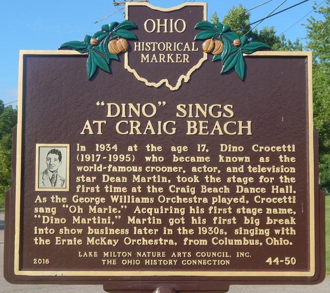 Dean Martin Craig Beach sign