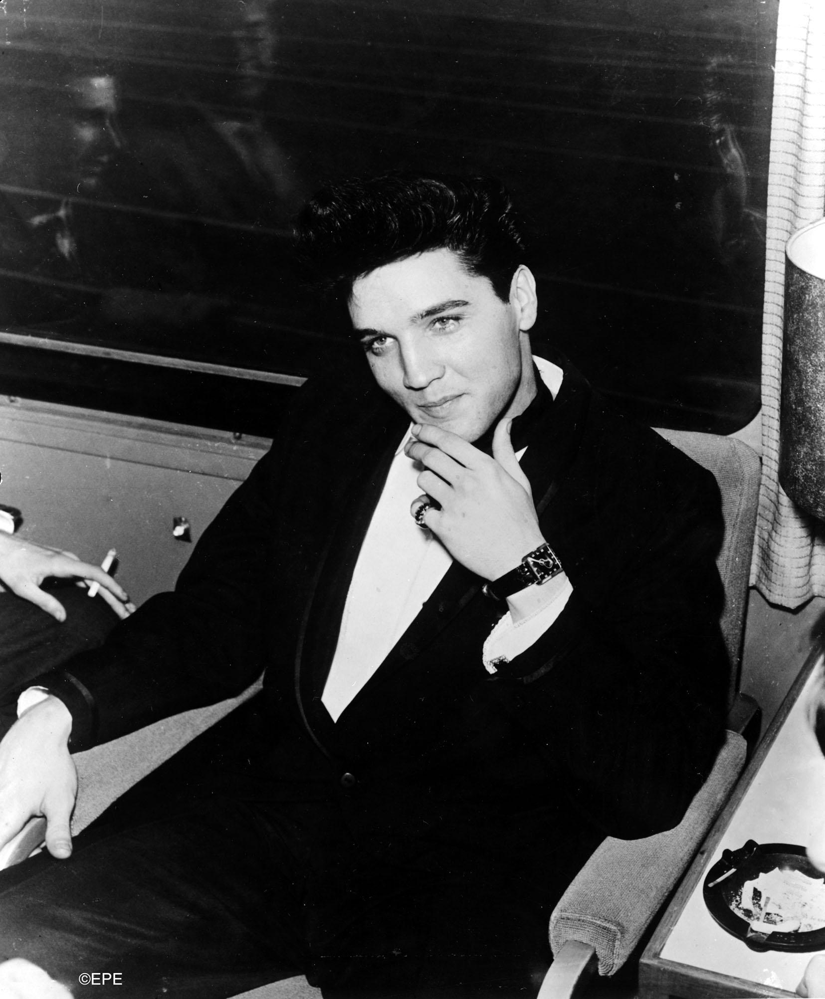 """Vorbereitungen zum TV-Special """"Welcome Back Elvis"""" mit Frank Sinatra, 1960"""
