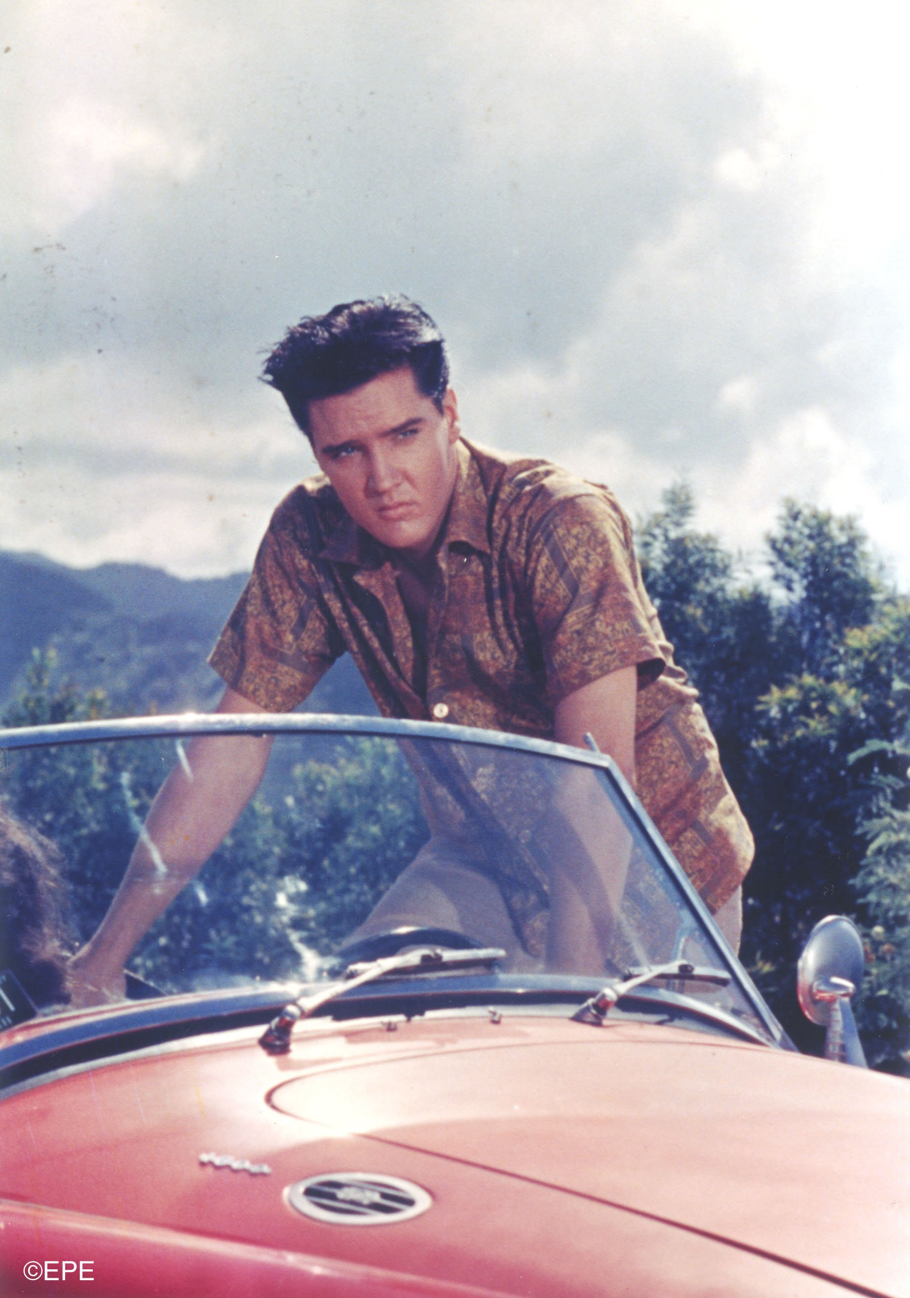 "Elvis im Film ""Blue Hawaii"", 1961"