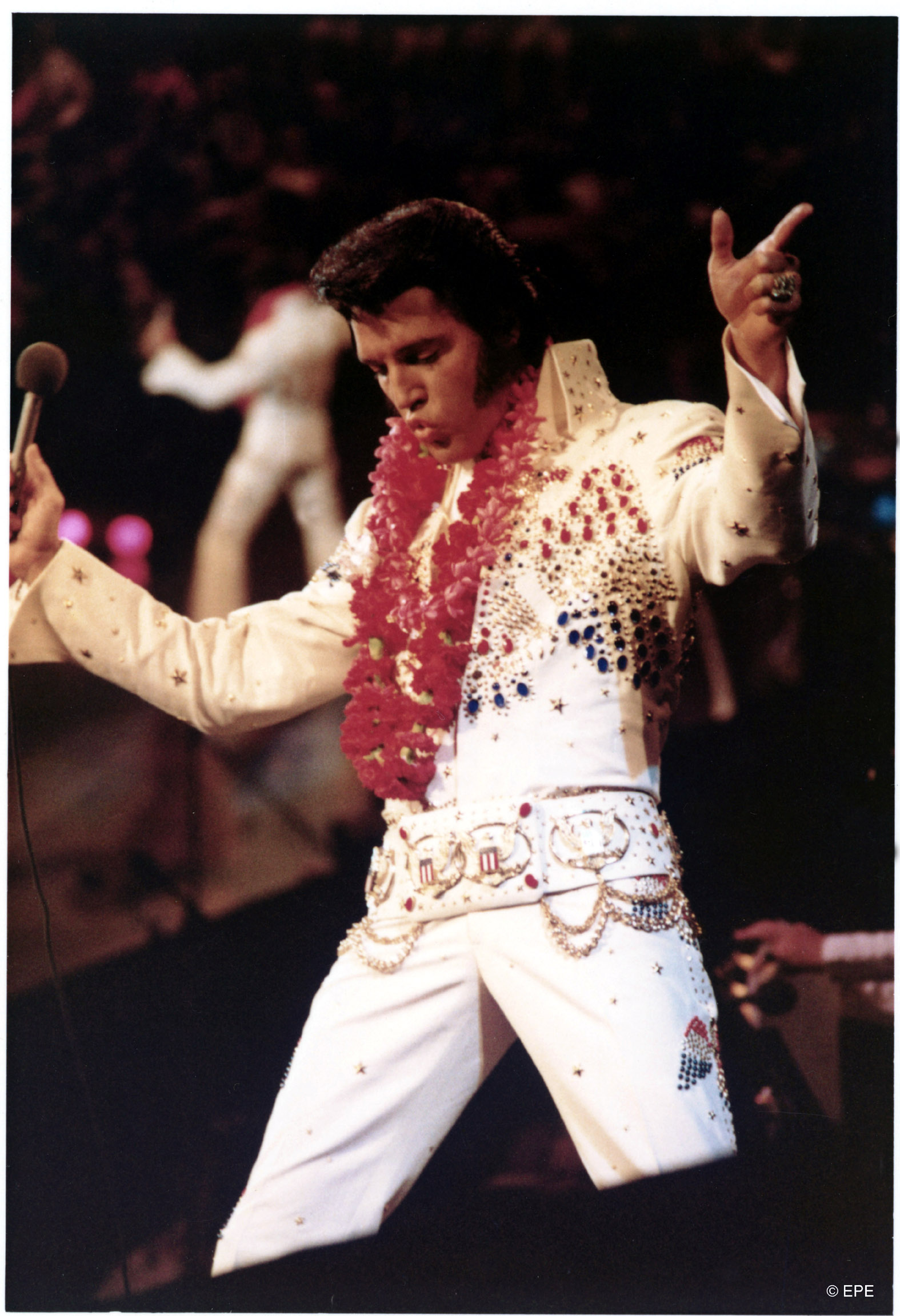 """Elvis live bei """"Aloha From Hawaii"""", Januar 1973"""