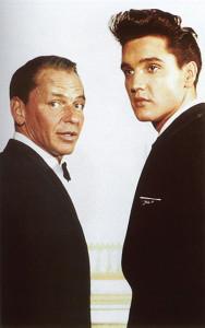 Elvis und Frank Sinatra