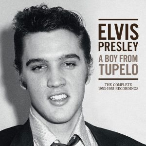 Elvis Presley A Boy From Tupelo Cover