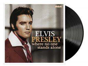 Elvis LP Where No One Stands Alone