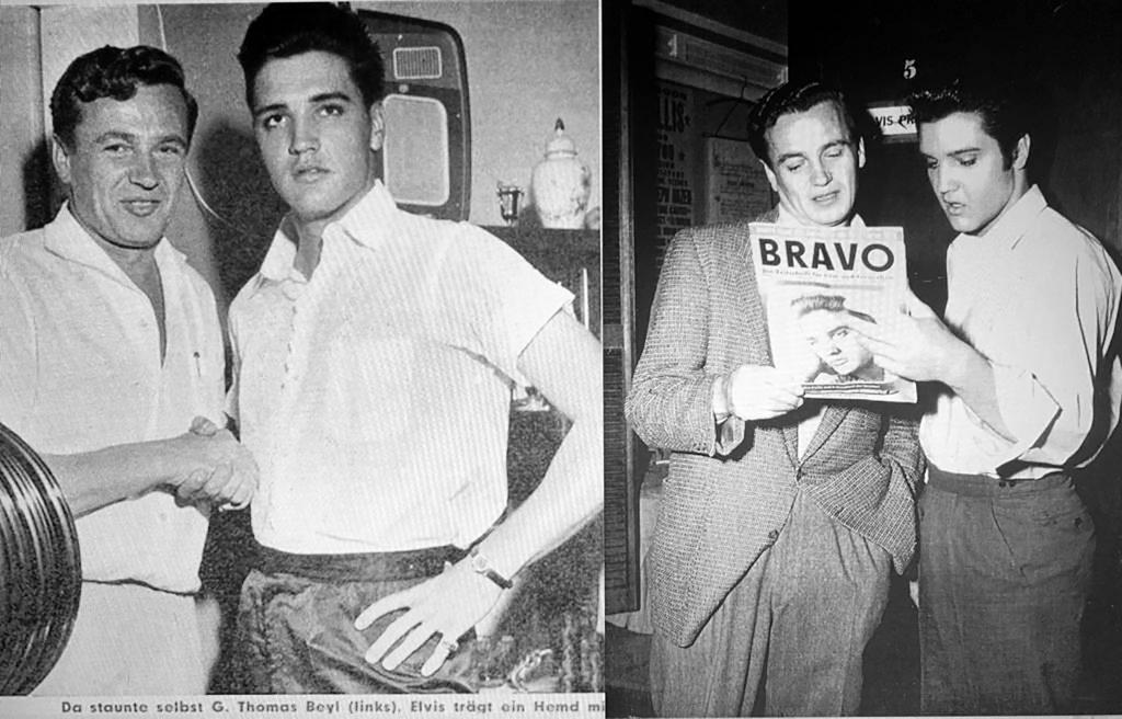 Elvis und Thomas Beyl