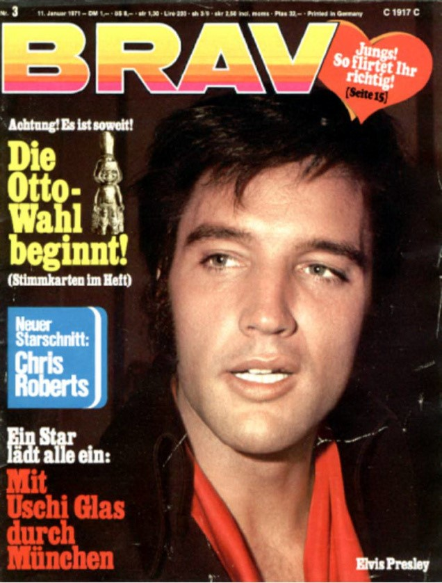 Elvis BRAVO Magazin Cover