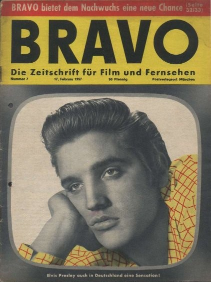 Elvis BRAVO Cover
