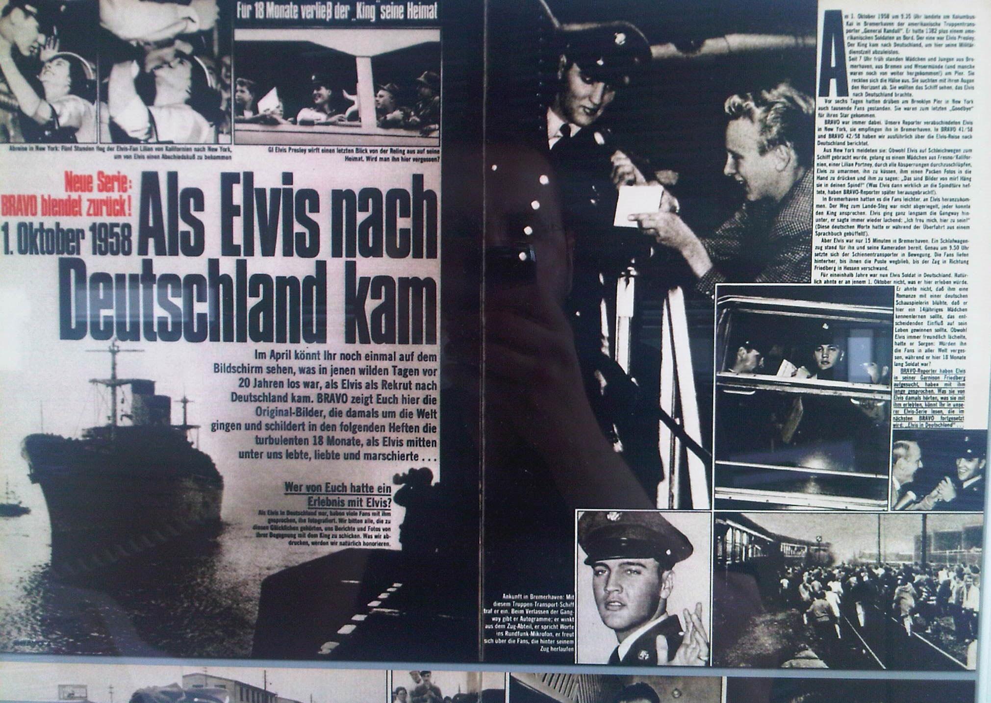 Elvis in Deutschland